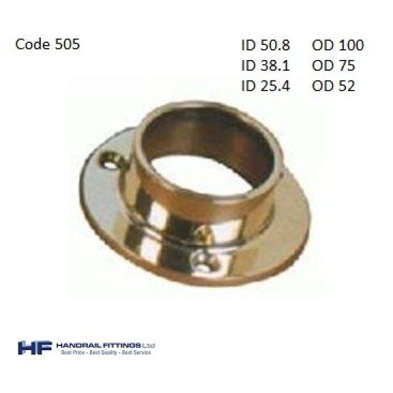 505 Brass Flange