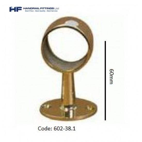 602 Brass Through Post - Short