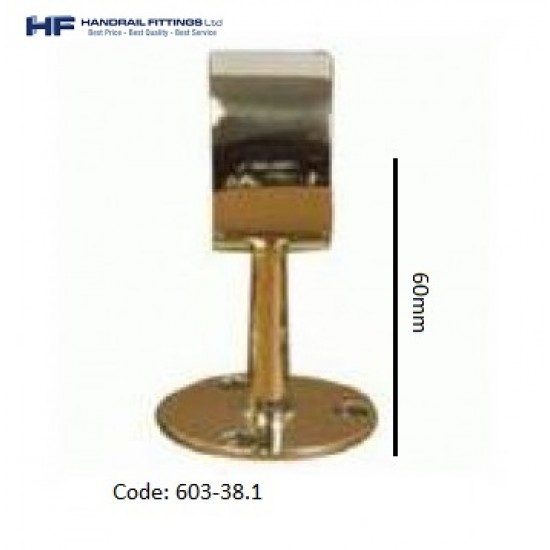 603 Brass End Post - Short