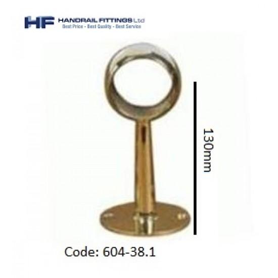 604 Brass Through Post - Tall