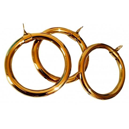 722 Brass Curtain Rings