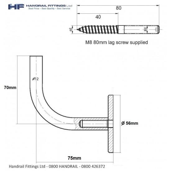 Sierra Handrail Bracket