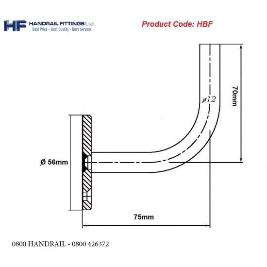Vienna Handrail Bracket