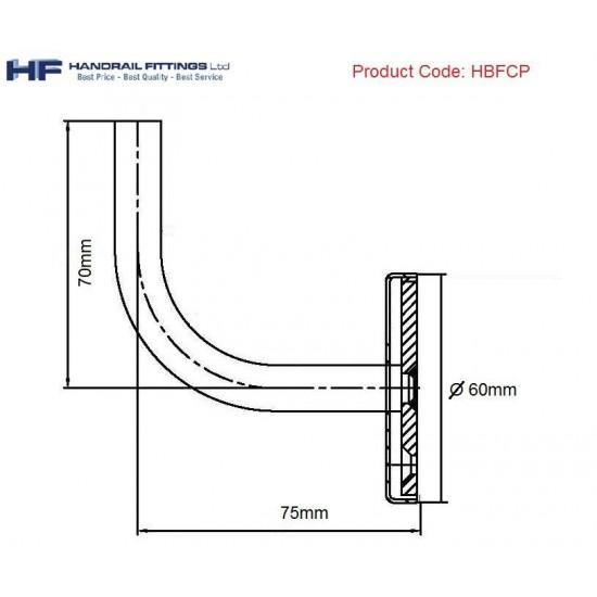 Milano Handrail Bracket